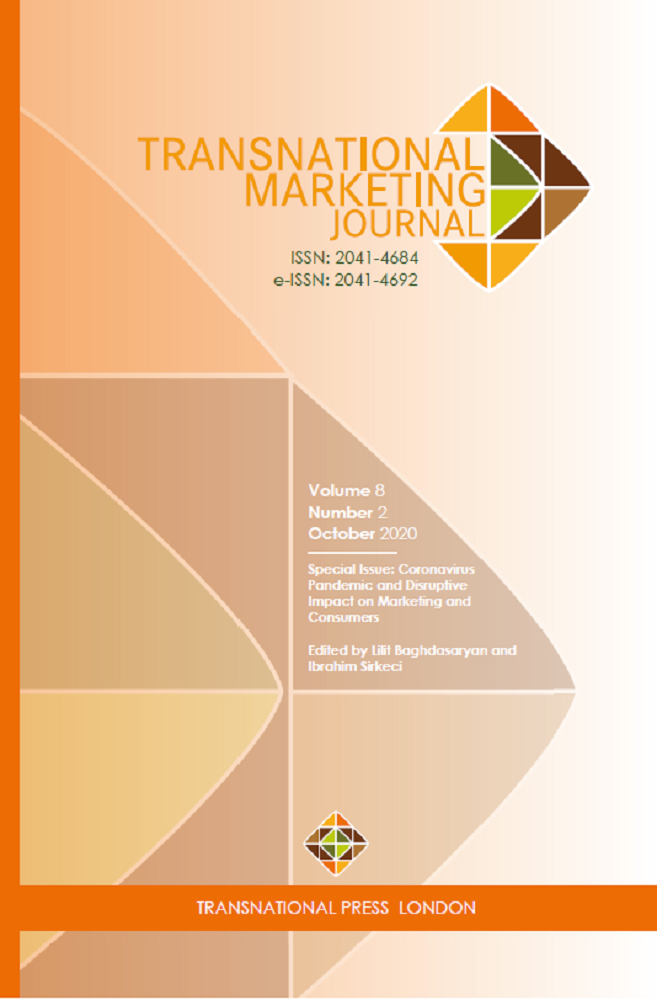 Transnational Marketing Journal, Vol.8, No.2 Cover